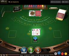 RoyalCasino Blackjack